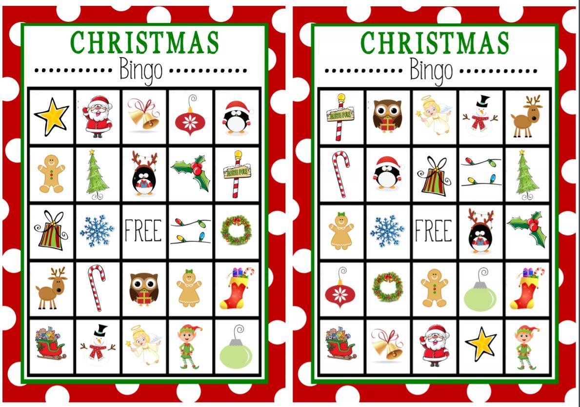 Christmas Bingo-Free Printable