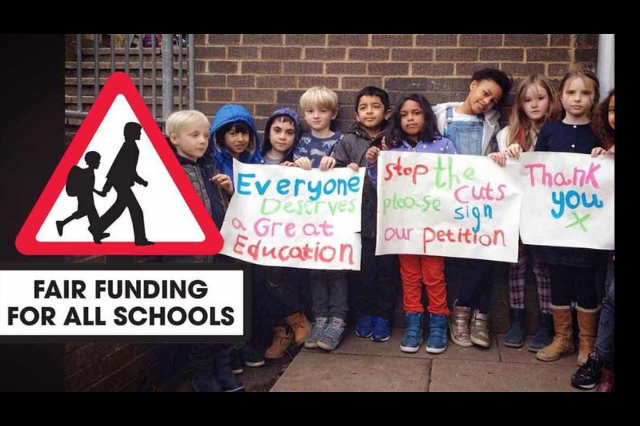 Funding cuts to schools